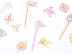 32 toppers pour tout décorer - Happy Birthday