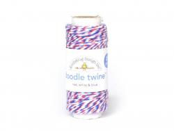 Ficelle Baker Twine - Bleu Blanc Rouge