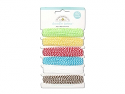 Assortiment de 6 Ficelles Baker Twine - Day to day