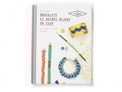 Livre Bracelets et autres bijoux en cuir - Do It Yvette Hachette - 1