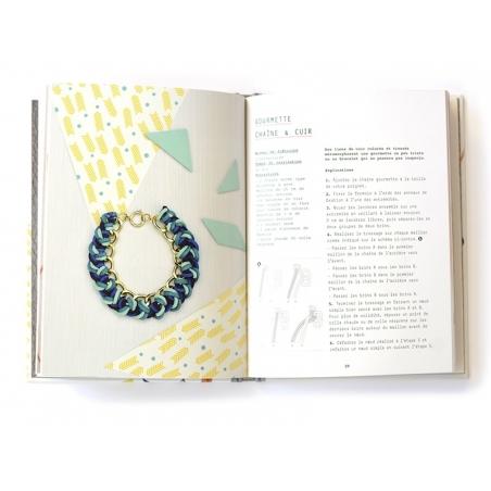 Livre Bracelets et autres bijoux en cuir - Do It Yvette