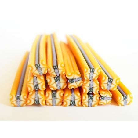 Acheter Cane papillon jaune en pâte fimo - 0,99€ en ligne sur La Petite Epicerie - 100% Loisirs créatifs