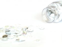 Assortiment de sequins - Blanc