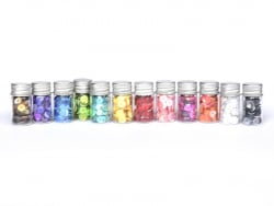 Set of sequins - 12 colours