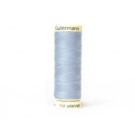 Fil pour tout coudre -100 m- Bleu clair 75