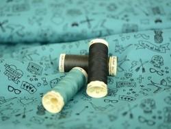 Sew-all thread - -100 m - Light green (colour no. 297)