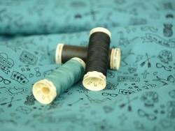 Sew-all thread - -100 m - Fir green (colour no. 18)