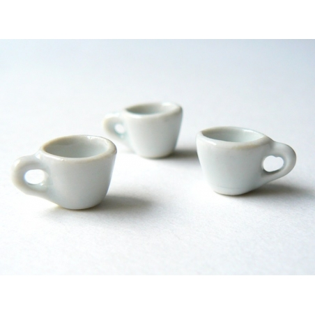TASSE miniature  - pour vitrines miniatures et bijoux gourmands  - 3