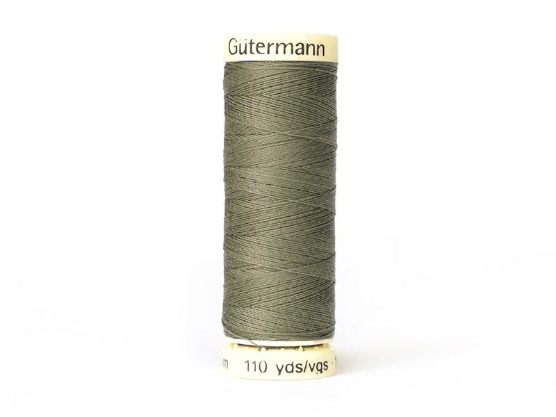 Fil pour tout coudre -100 m- Kaki 258 Gütermann  - 1