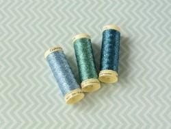 Fil métallique -50 m- Bleu clair 143