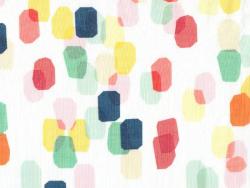 """Tissu """"Let's have a party"""" - Shine Bright  en coton Bio"""