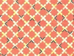 """Let's have a party"" fabric - We Got The Beat - organic cotton"