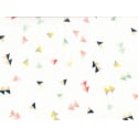 "Tissu ""Let's have a party"" - Escapade en coton Bio"