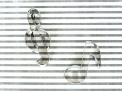 Ausstechform - Violinschlüssel