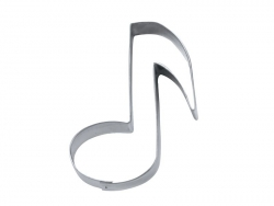 Biscuit cutter - Music Note
