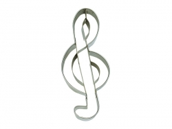Biscuit cutter - Treble Clef