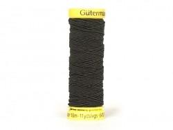 Elastic thread - 10 - Black (colour no. 4017)