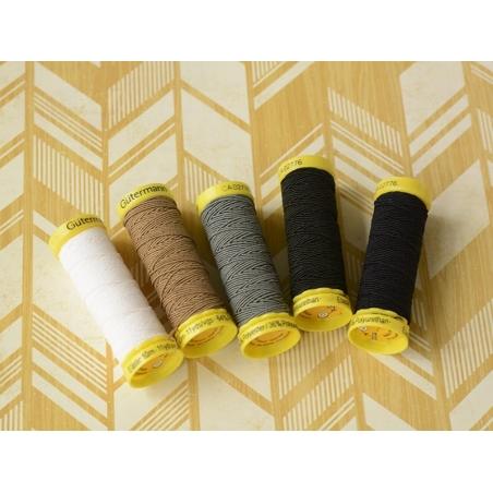 Elastic thread - 10 - White (colour no. 5019)