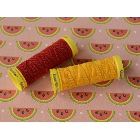 Elastic thread - 10 - Yellow (colour no. 4009)