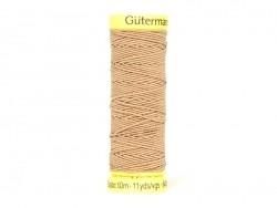 Elastic thread - 10 - Brown (colour no. 1028)