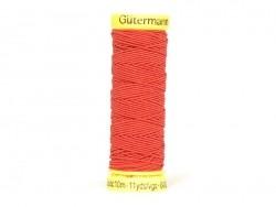Elastic thread - 10 - Red (colour no. 2063)