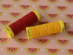Fil élastique -10 m- Rouge 2063