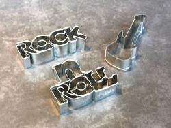 Ausstechform - Rockgitarre
