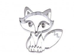 Biscuit cutter - Sitting Fox