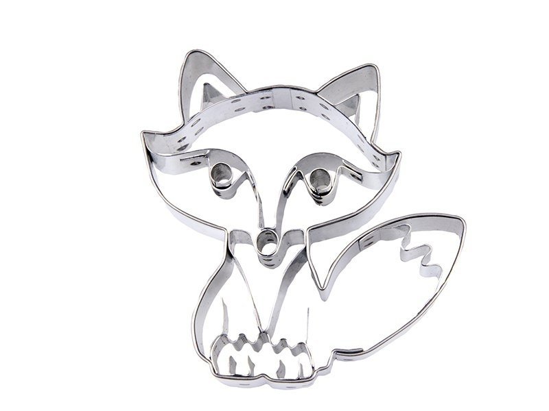 Biscuit cutter - Sitting Fox