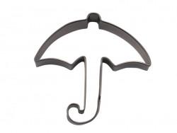 Emporte-pièce parapluie ouvert