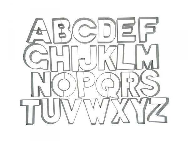 Emporte pi ce lettres de l 39 alphabet loisirs cr atifs - Lettre de l alphabet en majuscule a imprimer ...
