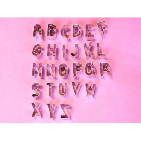 Emporte-pièce Lettres de l'alphabet
