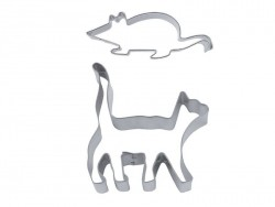 Biscuit cutter - Cat and mouse