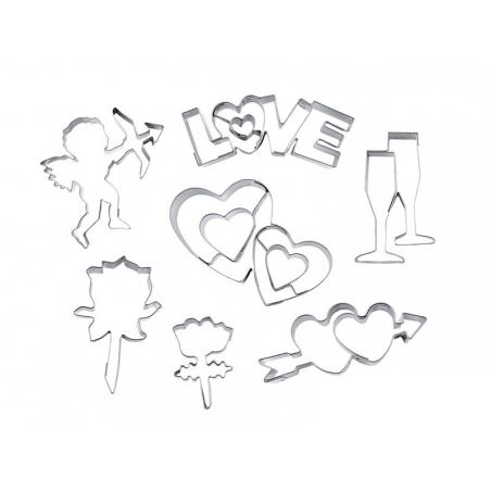 7 Emporte-pièces Amour Stadter - 1