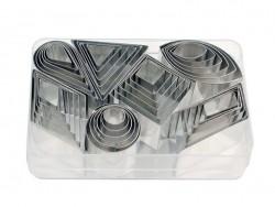 Acheter 42 Emporte-pièces formes géométriques - 27,99€ en ligne sur La Petite Epicerie - Loisirs créatifs