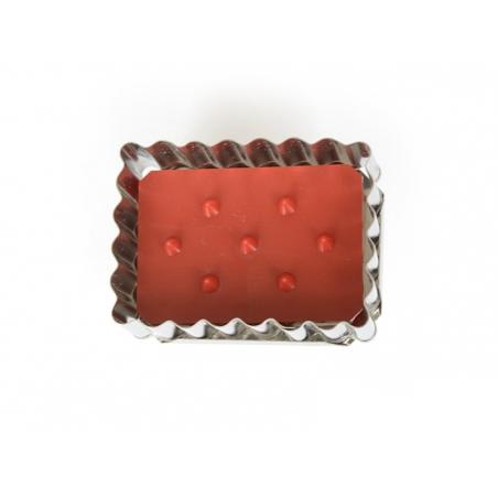 Biscuit cutter + Stamp - Biscuit