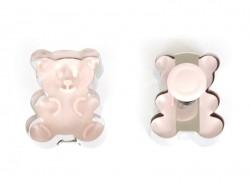 Acheter Emporte-pièce + Tampon Ourson - 4,50€ en ligne sur La Petite Epicerie - Loisirs créatifs