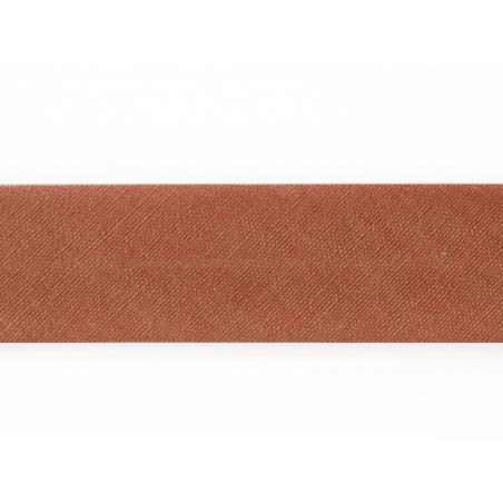 1 m of bias binding (20 mm) - brown (colour no. 48)