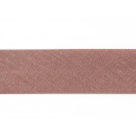 1 m of bias binding (20 mm) - dusky pink (colour no. 47)