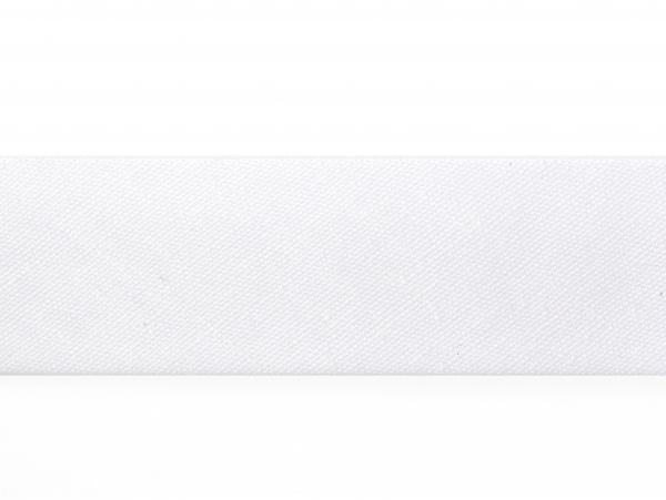 1 m of bias binding (20 mm) - white (colour no. 1)
