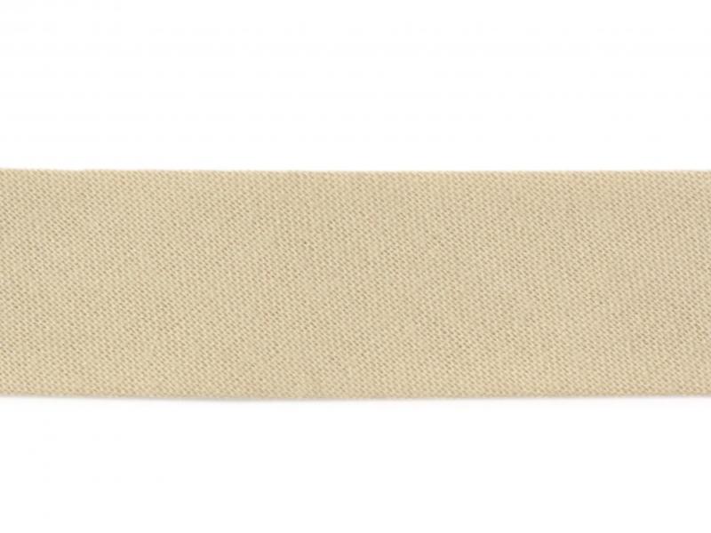 1 m of bias binding (20 mm) - beige (colour no. 244)