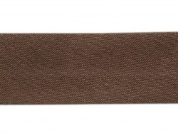 1 m of bias binding (20 mm) - chocolate brown (colour no. 56)