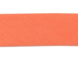 1 m of bias binding (20 mm) - coral red (colour no. 82)
