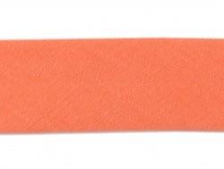 1 m Schrägband (20 mm) - korallenrot (Farbnr. 82)
