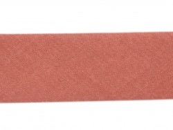1 m of bias binding (20 mm) - brick red (colour no. 270)