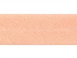 1 m Schrägband (20 mm) - lachsfarben (Farbnr. 12)