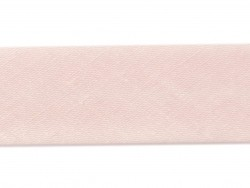1 m of bias binding (20 mm) - pastel pink (colour no. 75)