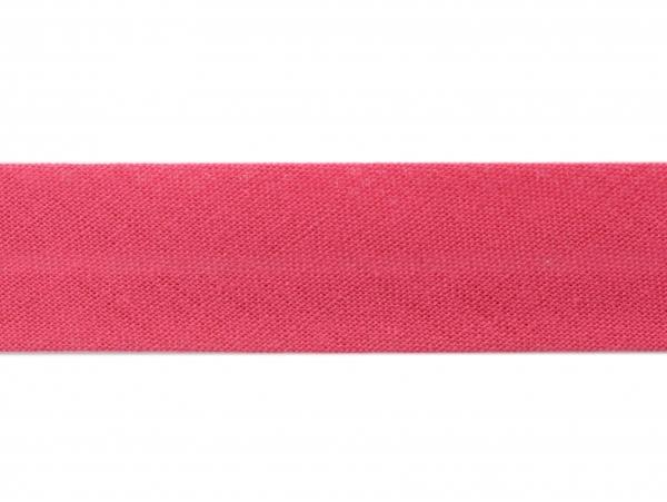 1 m of bias binding (20 mm) - fuchsia (colour no. 178)