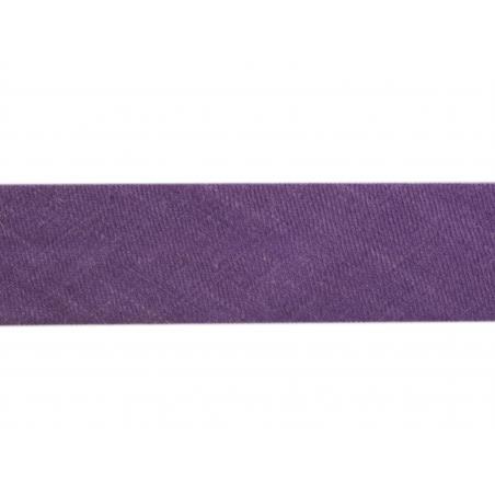 1 m of bias binding (20 mm) - dark violet (colour no. 96)
