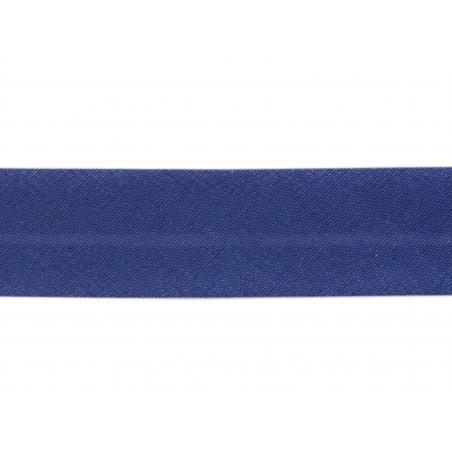 1m biais 20mm Bleu Roi 24